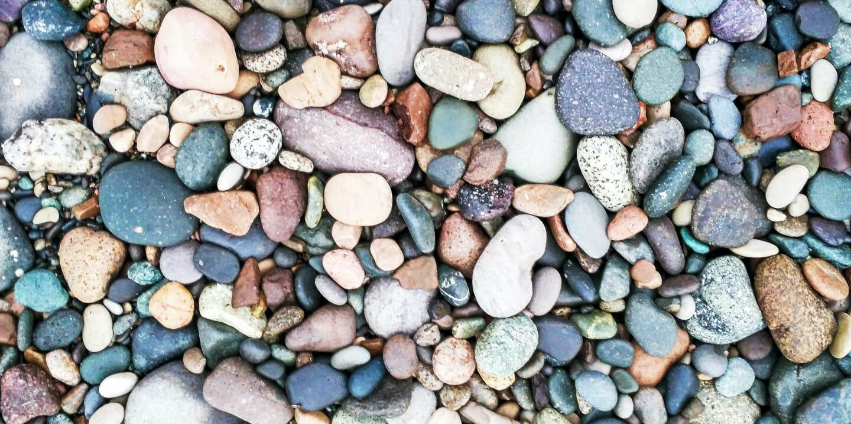 Small rocks and pebbles