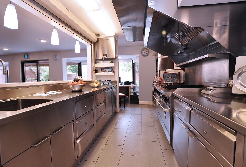 Kitchen at Munro Centre.