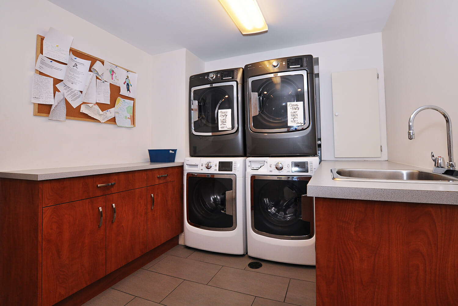 Laundry room at Munro Centre.
