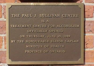 Sullivan Opening Plaque