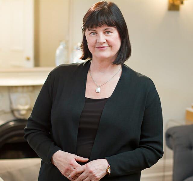 Leadership team member Gail Power