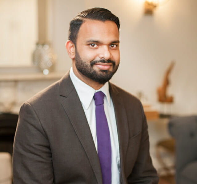 Leadership team member Sunil Boodhai