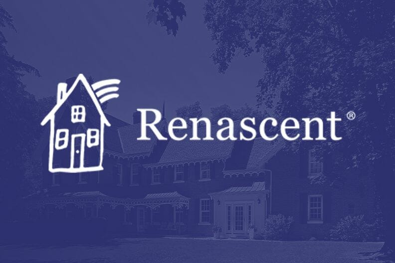 Renascent house logo