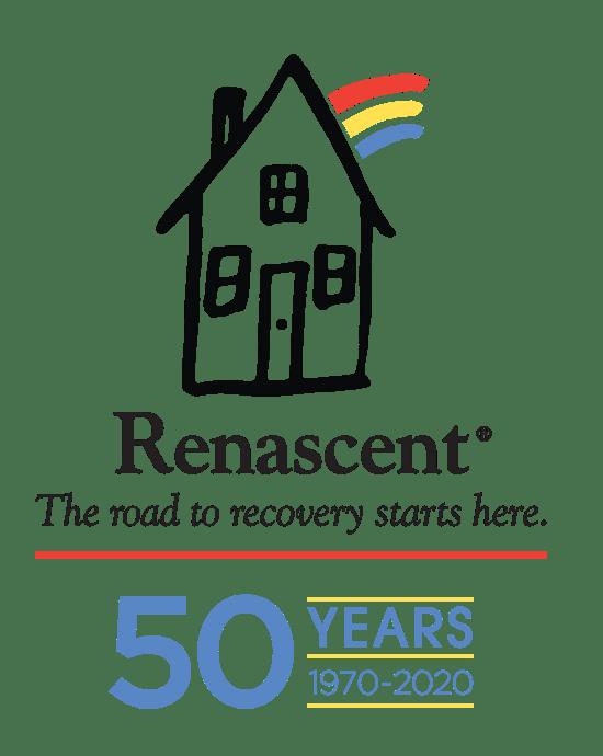 Renascent 50 Years logo
