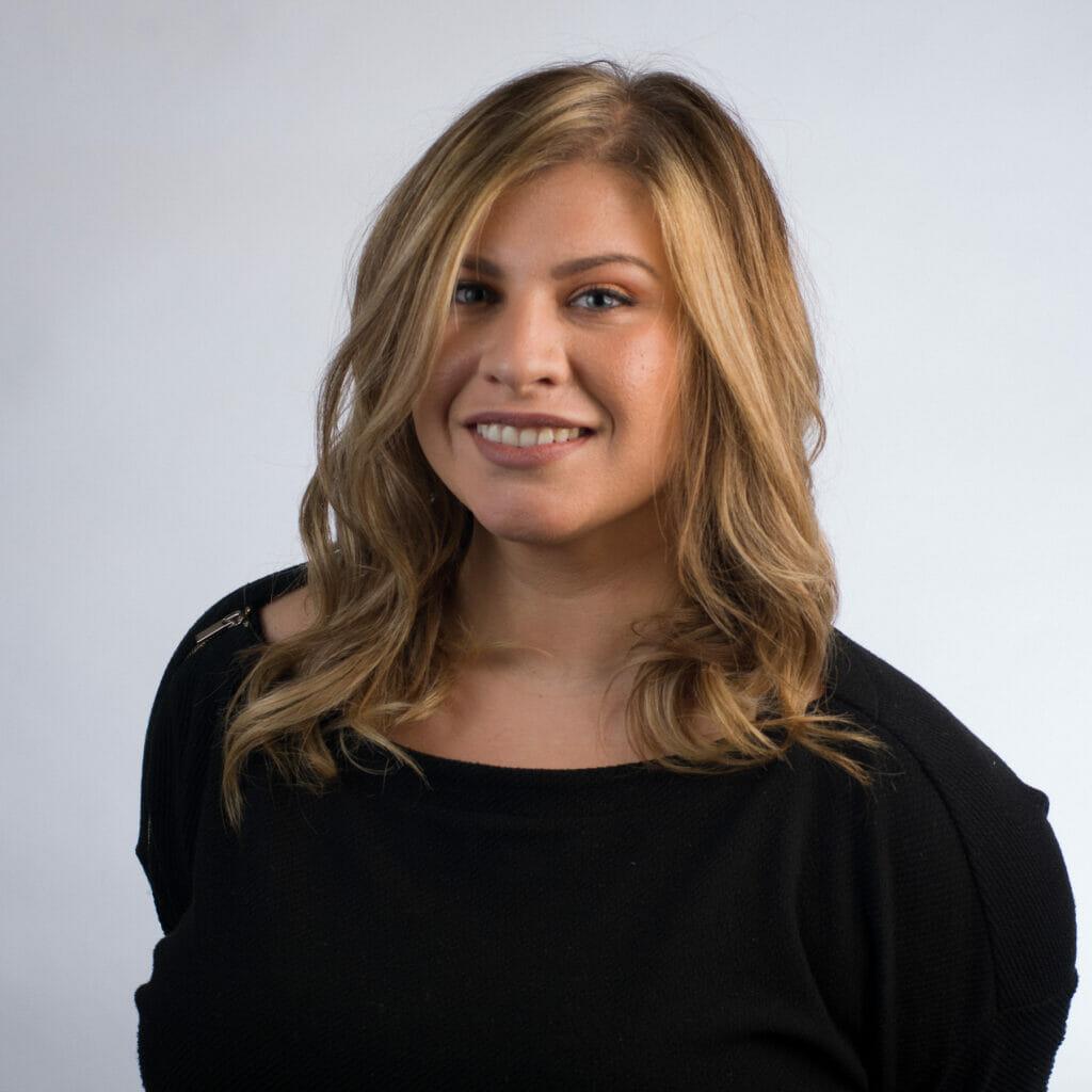 Leadership team member Christina Selvaggio.