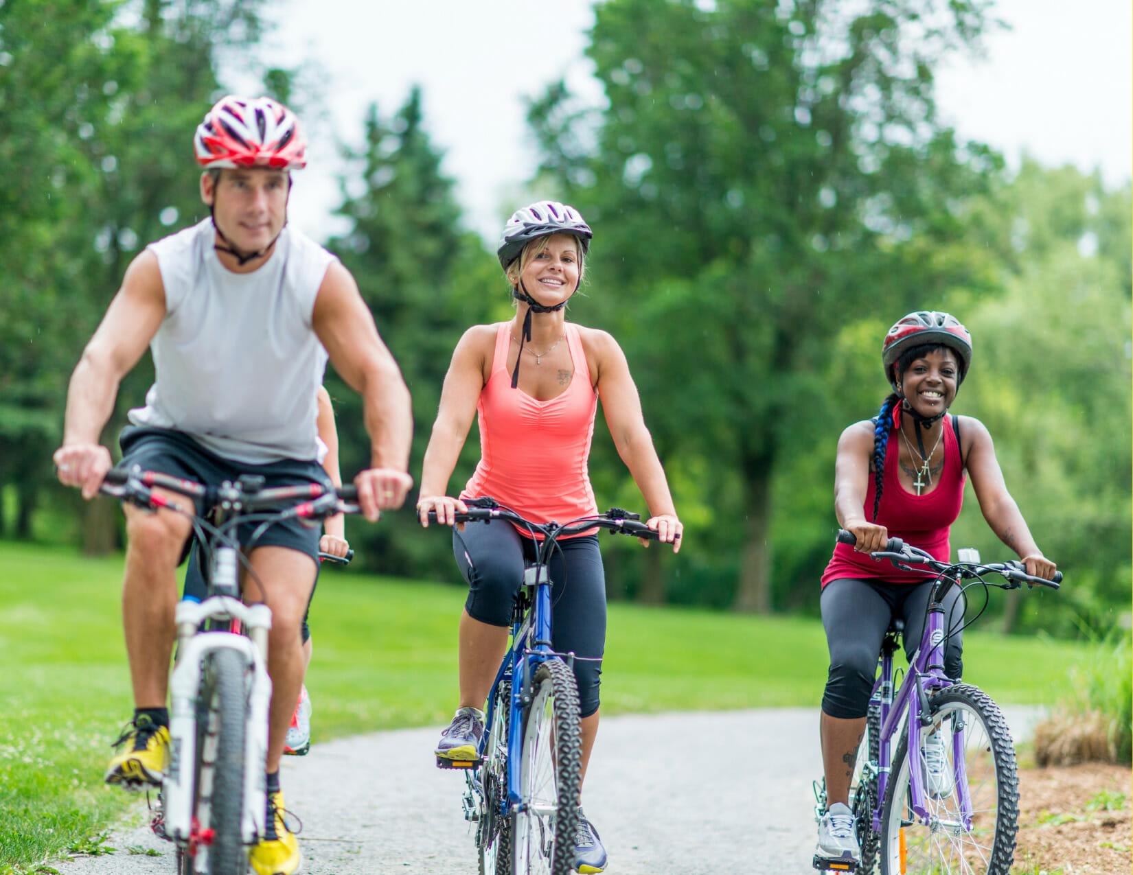 Bike Riding Together