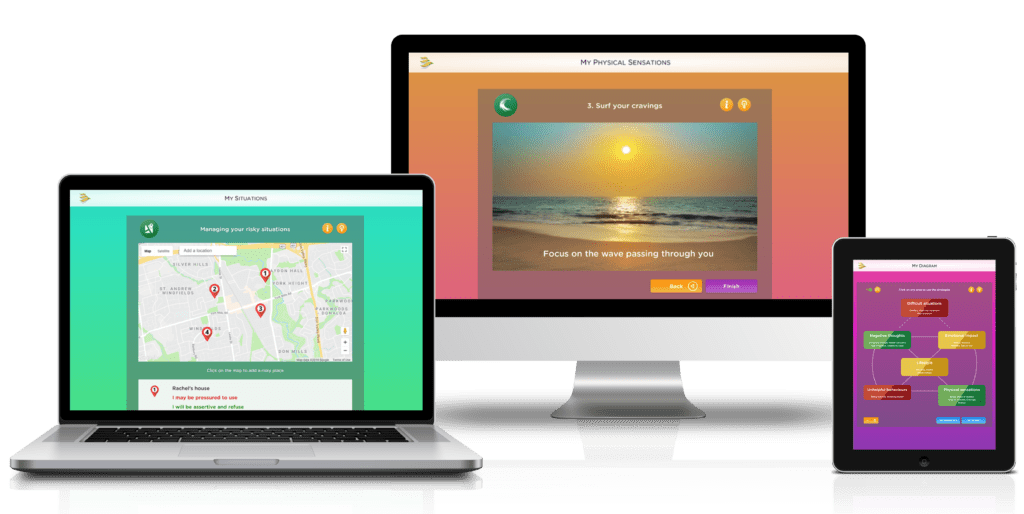 Breaking free on laptop, desktop and tablet